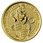 2016 イギリス 1/4オンス The Queen's Beasts 25ポンド金貨 ライオン・オブ・イングランド GEM BU