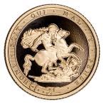 2017 イギリス 25ペンス ソブリンプルーフ金貨 ピストルチ200周年記念 GEM Proof OGP