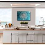 壁掛け時計 (モダンアート時計    デザイナーズ家具とマッチするおしゃれな時計) Catwalk Blue Clock