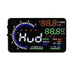 HUDネオトーキョー OBD-08 ヘッドアップディスプレイ 5.5インチ スピードメーター 水温計 タコメーター [対応車種:平成22年9月以降発売、ハイブリッド車対応]