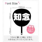 切り文字セット 【知念】1文字のサイズ:L(140×140mm)素材:カッティングシート