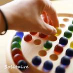 木とビー玉のソリティア パズル ゲーム