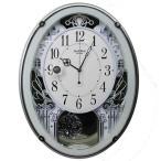 送料無料 スモールワールド  メロディ電波掛時計(18曲入) 4MN523RH05  リズム時計 シチズン