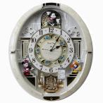 送料無料★セイコークロック SEIKO ディズニー 掛け時計 からくり時計 電波時計 FW580W