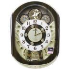 送料無料★セイコークロック SEIKO からくり時計 電波掛け時計 RE578B