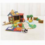 ふわふわファームハウス 出産祝い 赤ちゃん 布おもちゃ 1歳 2歳 誕生日 プレゼント