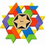 カレイドファン タングラム 幾何学 パズル 知育玩具 3