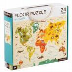 フロアーパズル アワーワールド 世界地図のジグソーパズル 3歳 4歳 誕生日 プレゼント クリスマスプレゼント