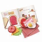 しょくぱんくんとサンドイッチ おままごと 布おもちゃ 1歳半 2歳 誕生日 プレゼント