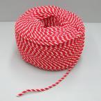 紅白ロープ(紅白ひも) 太さ6mm 切り売り