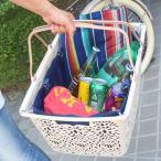 マハロバスケット エコバッグ かわいい おしゃれ サブバッグ レジカゴ レディース 買い物かご 夏 ハワイアン 雑貨 かごバッグ