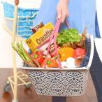 マハロバスケット リイ レジカゴ ハワイアン 雑貨 収納 エコバッグ 買い物かご スーパーマーケット プラスチック 買い物袋 運動会 洗濯かご ランドリーボックス