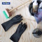 ゴム手袋 M ブラック 黒 掃除 清掃 ガーデニング グローブ 農作業 洗車 レディース ベランダ シンプル 肌を守る プロ 家庭 耐久性 マリーゴールド MARIGOLD