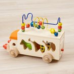Ed Inter エド インター アニマルビーズバス 売れ筋 木のおもちゃ 木製 木育 知育玩具 出産祝い ベビー 赤ちゃん かわいい