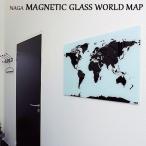 Magnetic glass World map 80×55cm ボード 世界地図 お絵かき おえかき マグネット 壁掛け インテリア 雑貨