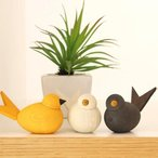 ラッセントレー スウェーデン バード L オブジェ 置物 置き物 小鳥 アニマル 動物 雑貨 かわいい 北欧