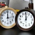 目覚し時計 リキアラームクロック WR09-14 WR09-15 レムノス LEMNOS 目覚まし 木製 ナチュラル デザイン 渡辺 力