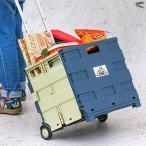カート ツェルト ノスタルジック キャリーカート 折りたたみ 軽量 台車 コンパクト 2輪キャスター付 コンテナカート 折り畳み台車 アウトドア 荷物運び