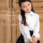 ショッピングブラウス 子供スーツ フォーマル ブラウス ジェシカ 110 120 130  入学式 結婚式 発表会