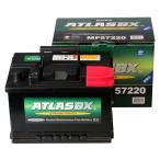ゴルフ5 2.0GTI (2007.8〜2009年)(型式:1KA,1KB)適合 アトラス A57220(72Ah) ATLAS バッテリー