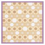 綿小ふろしき 中巾 菊寿蓮文 キクジュレンモン Designed by 川島織物セルコン  12-054304