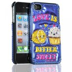 iPhone 4/4S用 スマホケース 3D Luxe Cover for iPhone 4/4S - Retail Packaging - David and Goliath/Love is Bitter Sweet 正規輸入品