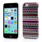 iPhone 5C用 スマホケース Rich Geometry Pattern Hard Plastic Protective Back Shell iPhone 5c Case Cover 正規輸入品