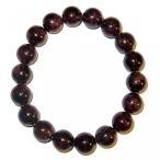 ショッピングGARNET アクセサリー Garnet Bracelet Red 12 mm Stretch Round Natural Bead Stones Abundance Rejuvenation Crystal (Gift Box) (7.25) 並行輸入品