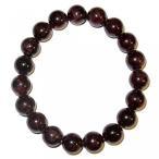 ショッピングGARNET アクセサリー Garnet Bracelet Red 10 mm Stretch Maroon Healing Wellness Positive Energy Round Bead Crystal (Gift Box) (6.75) 並行輸入品