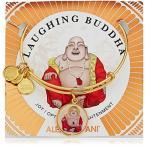 アクセサリー Alex and Ani Saints and Sages, Laughing Buddha Shiny Gold Bangle Bracelet 並行輸入品