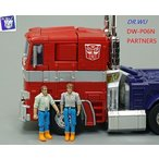 トランスフォーマー フィギュア Dr Wu P06N Partners Spike & Sam Father Set For Transformers Optimus Prime Deco 並行輸入品
