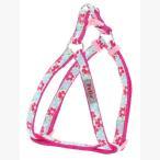 $(E01)Petio ペティオ キャンディベル カラフルフラワーハーネス XSサイズ ピンク