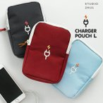 2nul イナル [2nul] CHARGER POUCH L-デジタルポーチ/充電器ポーチ/旅行用品/韓国雑貨
