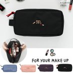 2nul イナル [2nul] FOR YOUR MAKE UP/メイクポーチ/化粧ポーチ/旅行用品/韓国雑貨