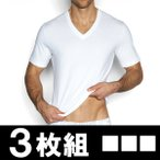 ショッピングIN C-IN2 シーインツー お得な3枚組みセット VネックTシャツ 半袖 HIGH V-NECK TEE メンズ CIN2 メンズインナー 下着 トップス 肌着