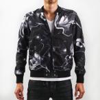 DIESEL ディーゼル MA-1ジャケット ブルゾン J-BLONDES フラワーモチーフ ショート丈 ジャンパー メンズ 男性