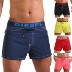 DIESEL ディーゼル メンズ水着 ボードショーツ サーフパンツ BMBX-SEASIDEDOLPHIN ショート丈 膝上 男性水着 スイムウェア ご返品不可