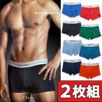カルバンクライン Calvin Klein お得な2枚組みセット ローライズボクサーパンツ BOXER TRUNK 男性下着 メンズ 下着