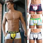 PUMP パンプ ローライズボクサーパンツ JOGGER NO-SHOW TRUNK Underwear 男性下着 メンズ 下着