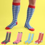 高袜 - ネコポス送料無料 SOCK HOLIC ハイソックス・靴下 LONG SOCKS 幻のスーパーヒーロー (男性 メンズ 23-25cm 25-27cm 27-29cm 大きいサイズ 小さいサイズ )