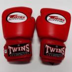 子供用 新品 TWINS ツインズ 本格ボクシンググローブ 赤 2oz(M) 4oz(L) 選択 /ボクシング/ムエタイ/キッズ用/ジュニア