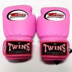 子供用 新品 TWINS ツインズ 本格ボクシンググローブ ピンク 2oz(M) 4oz(L) 選択 /ボクシング/ムエタイ/キッズ用/ジュニア