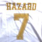 子供用 K001 レアルマドリード HAZARD*7 アザール 白金 20 ゲームシャツ パンツ付