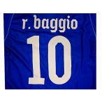 子供用 K015 イタリアHOME R.BAGGIO*10 ロベルトバッジョ 青 16 上下セット