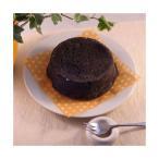 黒いチーズケーキ