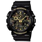 ショッピングShock G-SHOCK ジーショック CASIO カシオ メンズ 腕時計 Camouflage Dial Series カモフラージュダイアルシリーズ GA-100CF-1A9JF 国内正規販売店