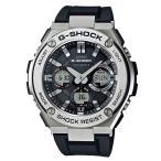 ショッピングShock G-SHOCK ジーショック CASIO カシオ メンズ 腕時計 G-STEEL Gスチール GST-W110-1AJF 国内正規販売店