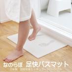 珪藻土バスマット 日本製 国産 ノンアスベスト 浴室マット 臭い の分解機能 防菌 足快バスマット リバーシブル なのらぼ 宇部興産