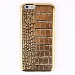 iPhone6s/6 ケース Gold Croco Bar