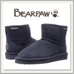 BEARPAW(ベアパウ) DEMI(デミ)スエードムートンブーツ CHARCOAL(チャコール/グレー)[もこもこショートブーツ][ウール/シープスキン][冬用靴][短丈][レディース]